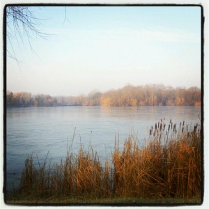 A beautiful scene at Bond Lake during my long run this weekend.